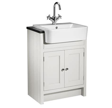 Bathroom Vanity Units Suppliers Roper Hton Chalk White Semi Countertop Unit 600mm Ham600sct W