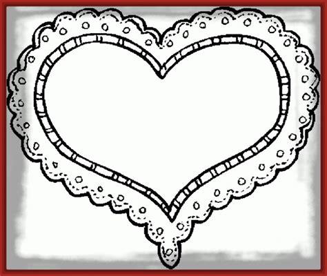 imagenes de corazones simples dibujo de corazon para imprimir archivos fotos de corazones
