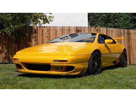 car owners manuals for sale 2000 lotus esprit auto manual 2000 lotus esprit for sale classiccars com cc 728652