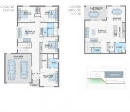 Floor Plans For Sloping Blocks Panorama By Esperance Homes New Contemporary Home Design