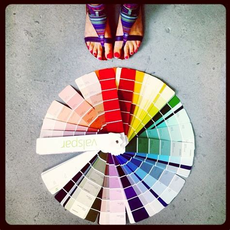 valspar paint color wheel colors