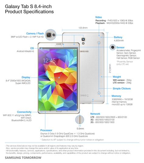 galaxy s specs samsung galaxy tab s tablets with amoled display to