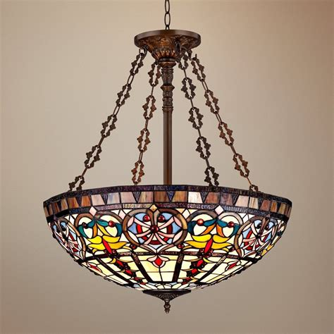 tiffany bathroom light fixtures ornamental tiffany style wide art glass bath pendant light
