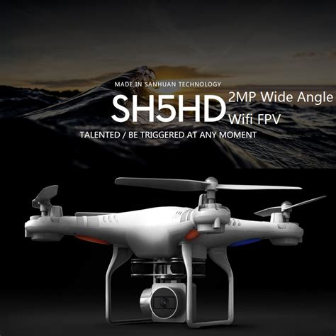 Remote Drone Only Drone Hr S5hw hr sh5hd rc drone with 2mp wifi fpv wide angle hd 2 4g 4ch altitude hold rc quadcopter vs