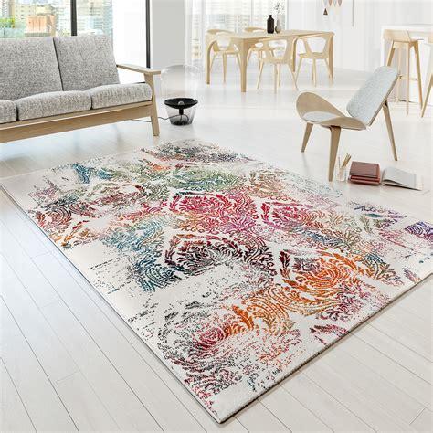 moderne teppiche teppich modern designer teppich bunt ornament muster