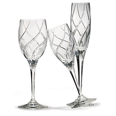 mikasa crystal barware mikasa 174 olympus crystal stemware and barware bed bath