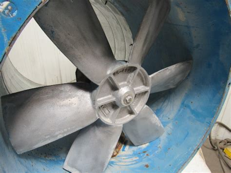 binks     paint booth exhaust fan tubeaxial