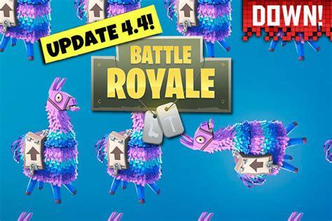 fortnite  server status  offline update