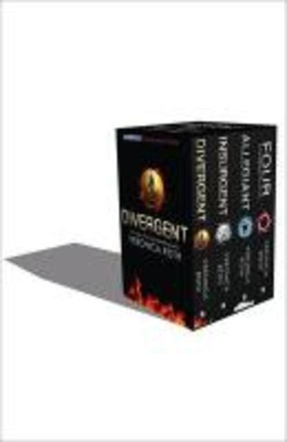 0008175500 divergent series box set books divergent series box set books 1 4 plus world of