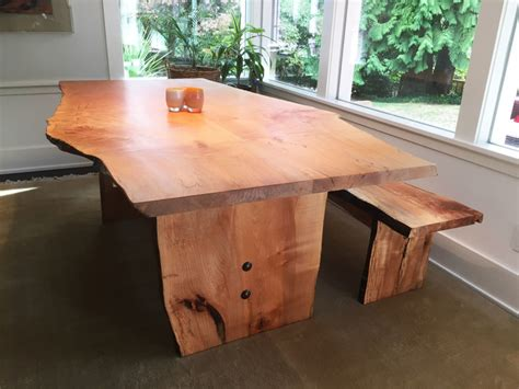 Handcrafted Furniture Seattle - custom wood dining table seattle chairs seating