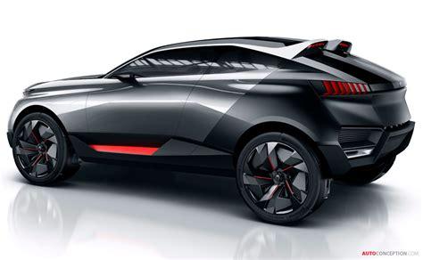 peugeot jeep interior peugeot reveals hybrid suv concept autoconception com
