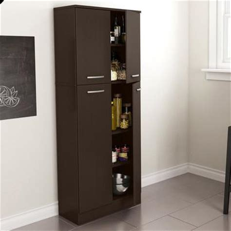 modern food pantry storage cabinet hutch kitchen dining