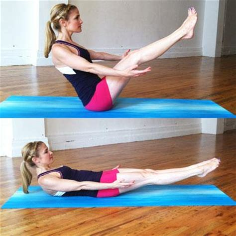 boat pose hold exercise low boat pose abs yoga exercise popworkouts
