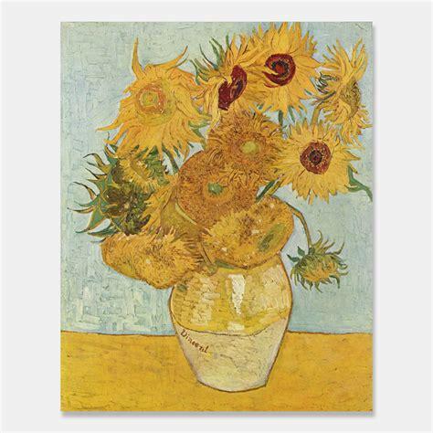 gogh fiori gogh vaso con girasoli sunflowers in a vase 1889