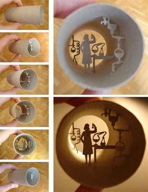 Things To Make Out Of Toilet Paper Rolls - miniature tp dioramas plus 4 other ideas for reusing
