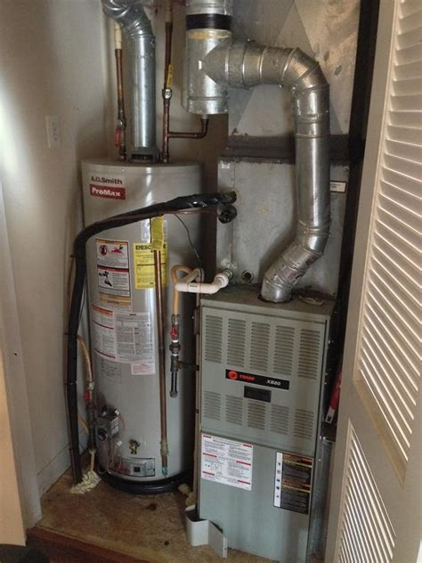 replacing water heater gas control valve home