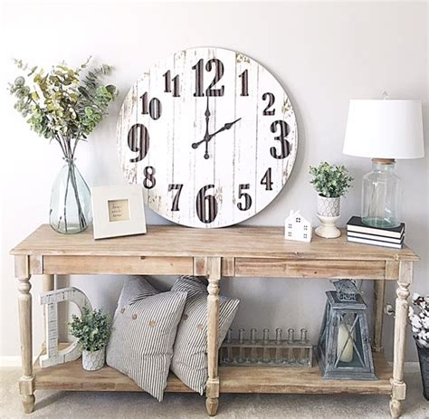 best 25 wall clock decor ideas on