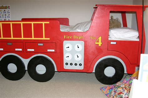 fire truck bed with slide fire engine loft bed fire free engine image for user