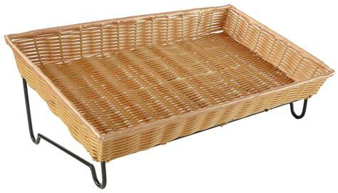 basket display rack basket countertop stand metal wire rack with angled display