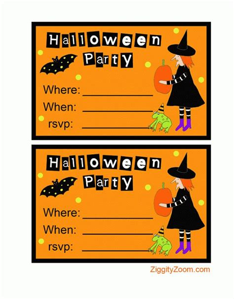 make printable halloween invitations 17 best images about halloween crafts costumes and food