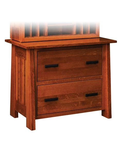 mission style lateral file cabinet freemont mission lateral file cabinet amish direct furniture