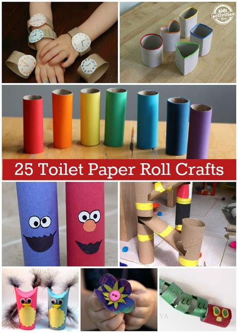 Crafts Made From Paper Towel Rolls - 174 best images about 101 things to do with a toilet paper
