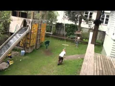 backyard flying fox backyard flying fox teamwork youtube