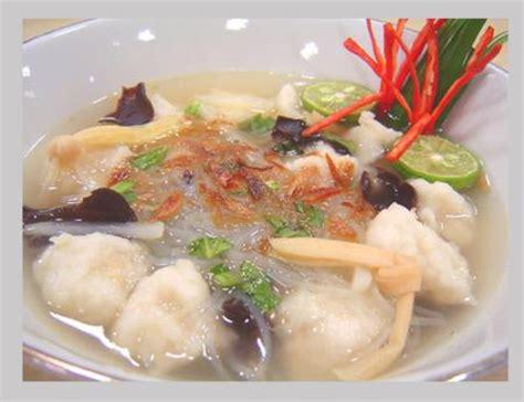 Tekwan Tenggiri macam macam pempek makanan khas palembang modelindo net