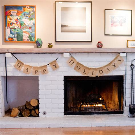 diy christmas decorations popsugar smart living diy holiday burlap bunting popsugar smart living