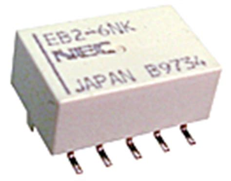 Relay Mini 5v Nec Japan 10 Pin Tipe Eb2 5nu surface mount relays
