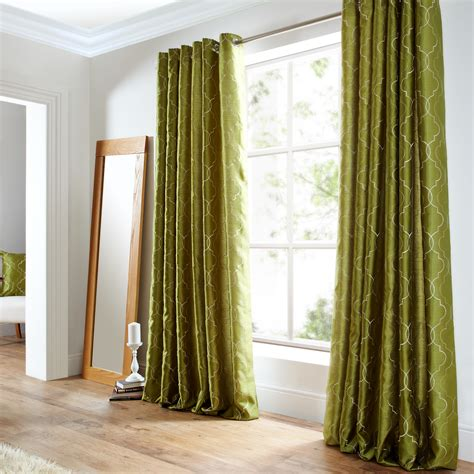 silk embroidered curtains faux silk luxury curtains embroidered ready made lined