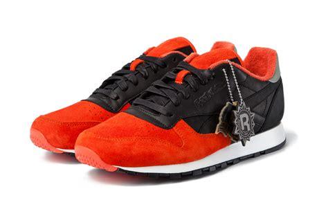 New Sepatu Reebok Classic solebox x reebok classic leather sneakers addict