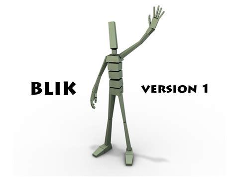 23 revision v1 blik for maya free character rigs downloads for maya
