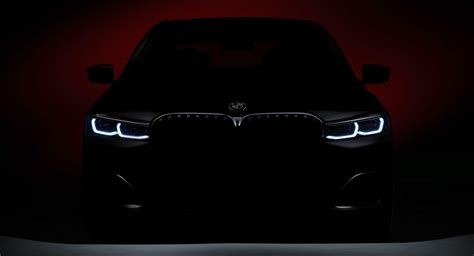 bmw  series teaser confirms  massive grille fears
