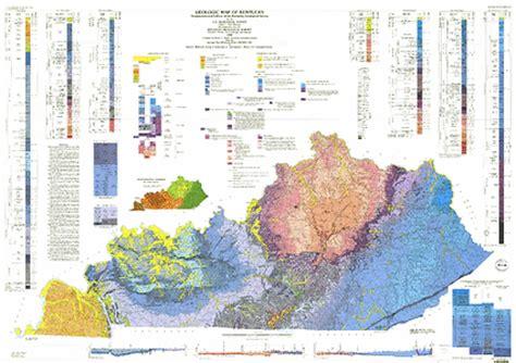 kentucky geologic map geologic map of kentucky ngmdb data gov