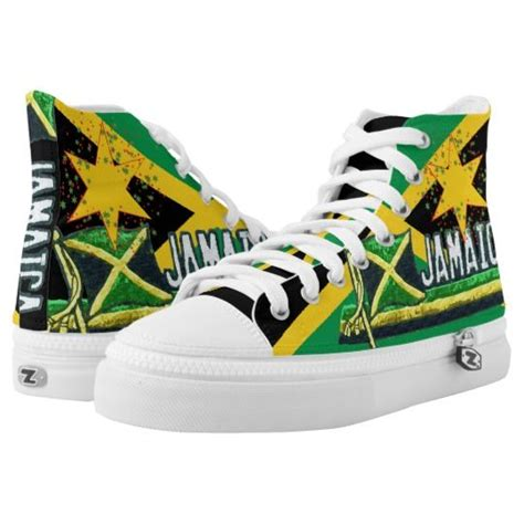 jamaican colored sneakers 17 best images about rasta shoes on high tops