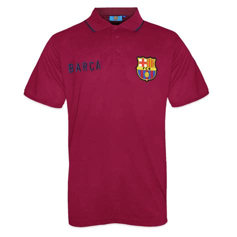 Polo Shirt Spain 3 fc barcelona official football gift mens crest polo shirt