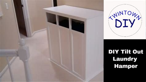 tilt out laundry her cabinet diy tilt out laundry her cabinet youtube