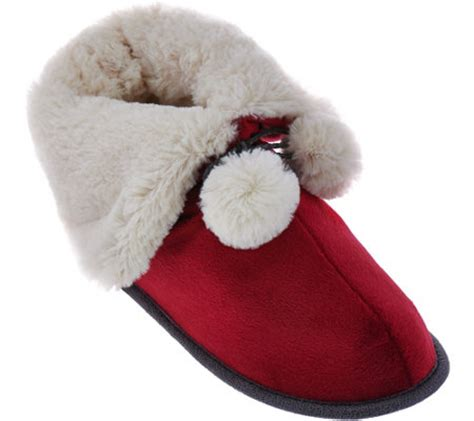 snuggle slipper socks cuddl duds snuggle cuddle slipper page 1 qvc