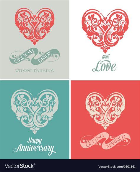 Wedding Anniversary Greeting Card Free by Wedding And Anniversary Greeting Card Royalty Free Vector