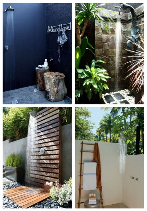 50 beautiful outdoor shower design ideas comfydwelling