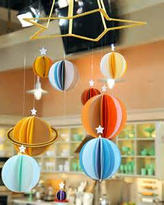 Handmade Solar System - solar system mobile diy pics about space