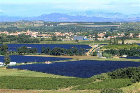 si鑒e du cr馘it agricole le plus grand parc solaire de languedoc roussillon