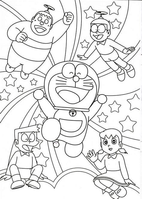 Crayon Mewaarnai 3in1 Pastel Cat Air Dan Crayon Promo 6 Warna Sa34 A doraemon coloring pages the best coloring pages mewarna gambar mewarna
