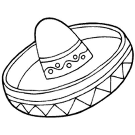 Sombrero Coloring Pages Sombrero Coloring Page