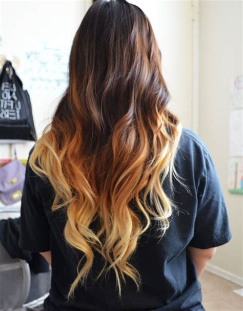 hair brown in back and bottom and blonde in front 31 best images about ombre hair on pinterest her hair