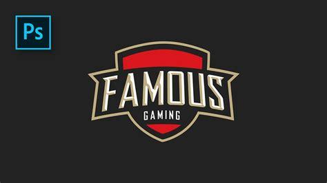 cara membuat logo keren di photoshop cs3 cara desain logo esport desain logo gaming simpel tapi
