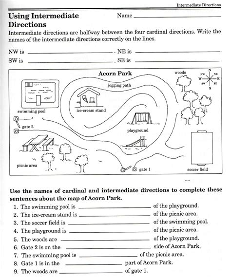 Grade 4 Map Skills Worksheets by Social Studies Skills Social Studies Geography And