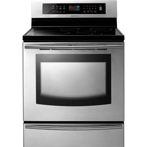 samsung induction range samsung electric range 30 in ftq307nwgx sears