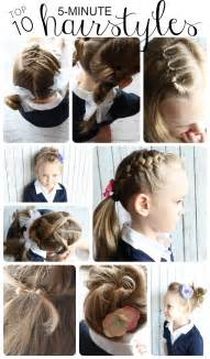 easy hairstyles for 10 ideas in 5 minutes